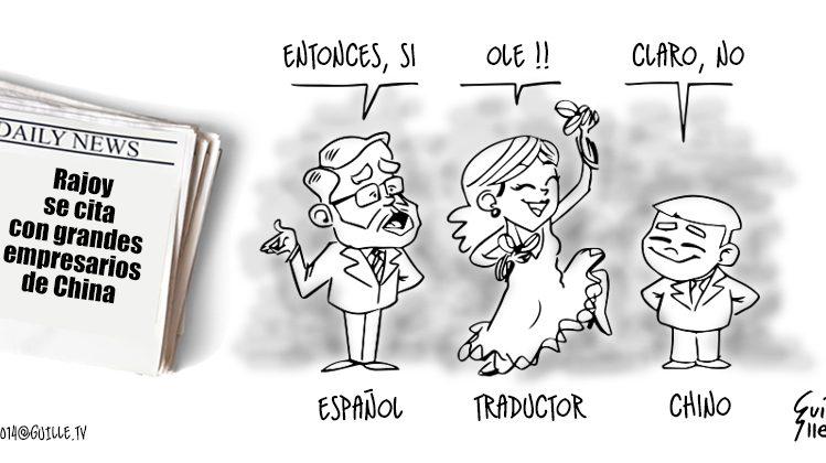 Rajoy se cita con grandes empresarios de China 1