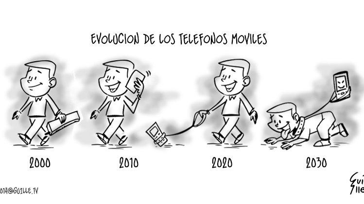 Evolución de los Teléfonos Móviles 1