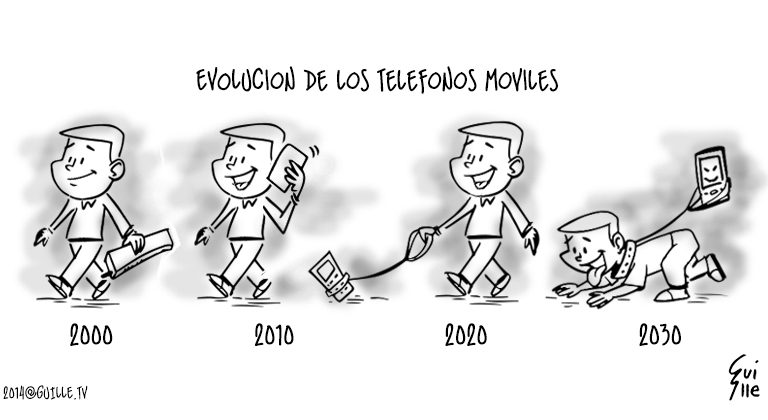 Evolución de los Teléfonos Móviles 7