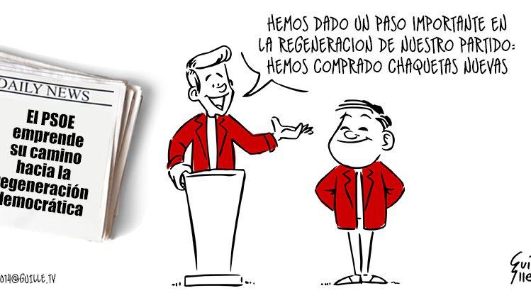El PSOE emprende su camino hacia la regeneración democrática 1