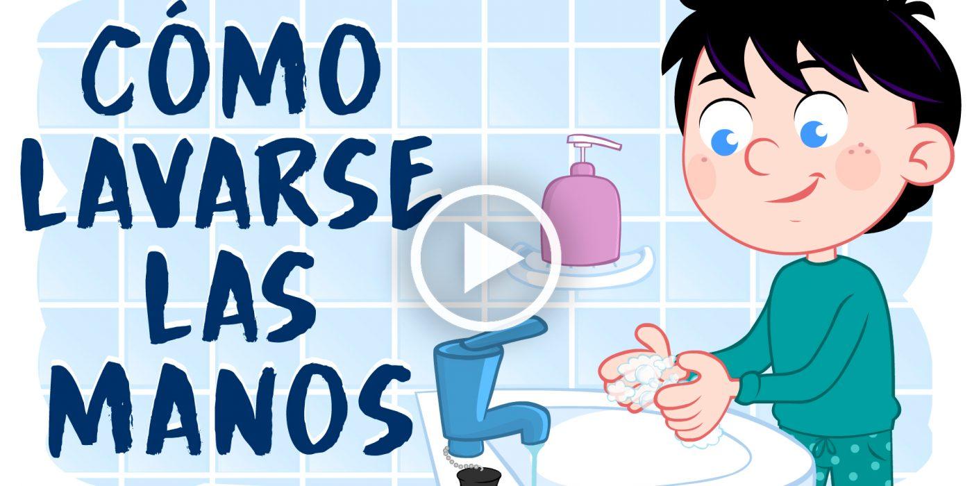 Cómo Lavarse las Manos 1
